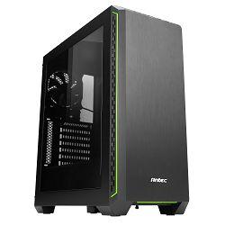 Kućište ANTEC P7 Window GREEN, MIDI, ATX, window, crno, bez napajanja