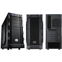 Kućište COOLERMASTER K280, RC-K280-KKN1, MIDI, ATX, crno, USB 3.0, bez napajanja