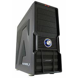 Kućište LC POWER 973B Fortress_X, MIDI, ATX, crno, bez PS + LC-CC-120