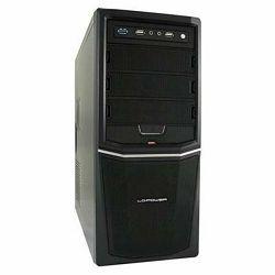 Kućište LC POWER Pro-924B, MIDI, ATX, crno, 420W