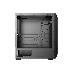 Kućište NEON Veles, TG bočna stranica, 2x USB 3.0, 1x USB 2.0, 4x 12cm RGB LED, RGB kontroler