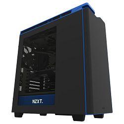 Kućište NZXT H440, MIDI, ATX, USB 3.0, window, crno-plavo, bez napajanja