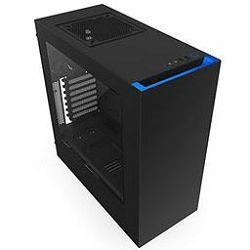 Kućište NZXT S340, MIDI, ATX, window, crno-plavo, bez napajanja