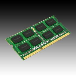 Memorija Kingston 4GB 1600MHz DDR3 Non-ECC CL11 SODIMM SR X8, EAN: 740617207781