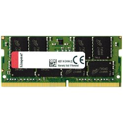 Memorija KINGSTON 16GB 2400MHz DDR4 Non-ECC CL17 SODIMM 2Rx8 Lifetime