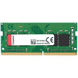 Memorija Kingston 8GB 2400MHz DDR4 Non-ECC CL17 SODIMM 1Rx8 Lifetime