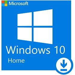 Microsoft Windows Home 10 64Bit Eng Intl 1pk DSP OEI DVD