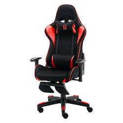 Gaming stolica LC-Power Gaming stolica LC-GC-702BR-FF, crno/crven