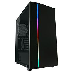LC-Power 706B - Destiny X, RGB, crno bez nap.