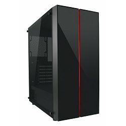 Kućište LC-Power 994B Vitreous TG, RGB, crno bez nap.