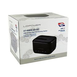 LC-Power dock za SSD/HDD, USB 3.0