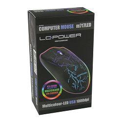 Miš LC-Power M717LED optički miš, 1000dpi