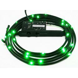 LED osvjetljenje NZXT Sleeved LED Kit CB-LED20-GR, zeleno, 2m