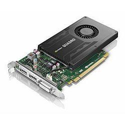 Lenovo NVIDIA Quadro K2200 4GB-GDDR5 PCIe x16 2xDP DVI