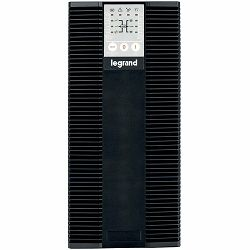 UPS Legrand - KEOR LP - EN 62040-3 CLASS = VFI, Sinusoidal PFC (>0,99),Tower, 2000VA/1800W,On – Line Double Conversion, transformerless, Outlet - 6xIEC - C13, Communication Port with Software - RS232