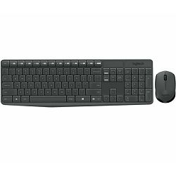 Logitech tipkovnica i miš Desktop MK235 Wireless
