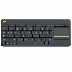Tipkovnica Logitech Wireless Touch K400 Plus Hrv