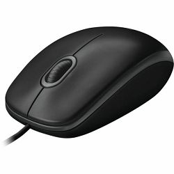 Miš Logitech B100 mouse black, USB