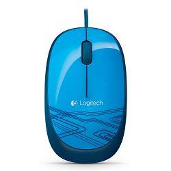 Logitech M105 Miš, plavi