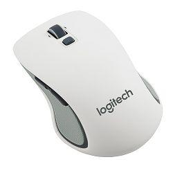 Logitech M560, bežični miš, bijel