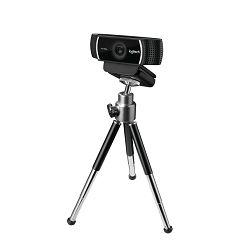 Logitech C922 HD web kamera, stream, 1080p, tripod