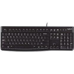 LOGITECH K120 Corded Keyboard black US