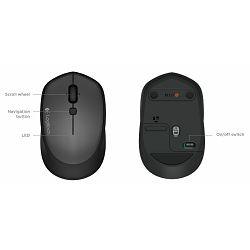 Miš Logitech M335, bežični, crn