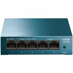 5-Port 10/100/1000Mbps Desktop Switch