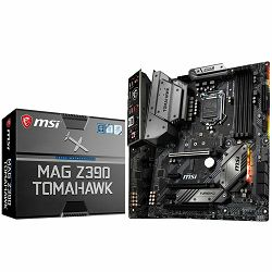 Matična ploča MSI MAG Z390 TOMAHAWK(S1151, 4xDDR4, 3xPCI-Ex16, 2xPCI-Ex1, USB3.1, USB Type-C, USB2.0, 6xSATA III, 2xM.2, RAID, HDMI, DP, 2xGLAN, RGB) ATX Retail