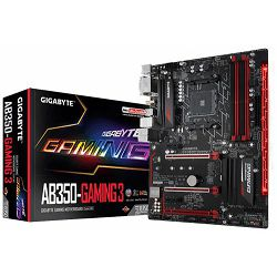 Gigabyte GA-AB350-Gaming 3,AM4,A350,D4,S3,U3,A