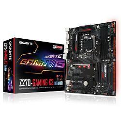 Matična ploča Gigabyte INTEL Z270 (Socket LGA1151,4xDDR4,HDMI,DVI-D,1xPCIEX16/2xPCIEX4/3xPCIEX1,USB3.1/USB3.0/USB2.0, 6xSATA III/2xSATA Express/1x M.2socket3,LAN) ATX retail