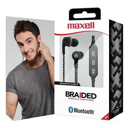 Slušalice Maxell bežične s mikrofonom BT700 crne