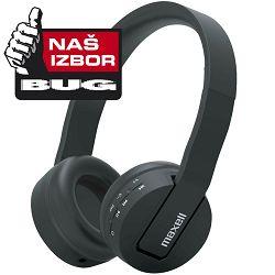 Slušalice Maxell bežične BT800  crne