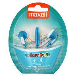Maxell Stereo colour slušalice, plave, mikrofon