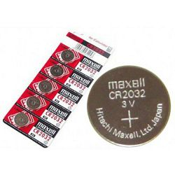 Maxell lit.dugm.baterija CR2032,5kom,bli