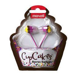 Maxell Cupcake slušalice, roze