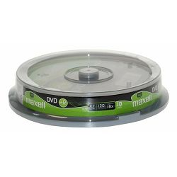 Maxell DVD+R 16x, 4.7GB 10 kom spindle