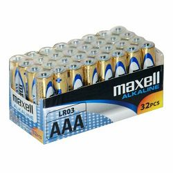 Maxell alkalne baterije LR-3/AAA, 100 komada