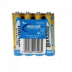 Maxell alk. bat. LR-3/AAA, 4kom, shrink