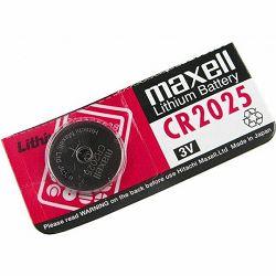 Maxell lit. dugmasta baterija CR2025, 1 komad