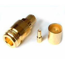 VF konektor N female gilded for H1000, RF400