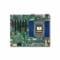 Matična ploča Supermicro Motherboard ATX Socket SP3 Single AMD EPYC 7000, up to 1TB DDR4 Reg ECC 2666MHz memory in 8 DIMM slots, 16 SATA3, 1 M.2, 2x Gb LAN ports, IPMI 2.0 + KVM