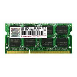 Memorija Transcend 2GB DDR3 1066MHz SODIMM