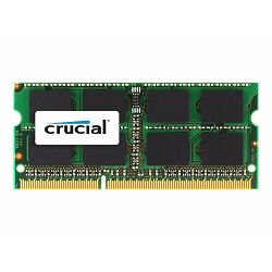 Memorija Crucial RAM 8GB DDR3 1333 MT/s  (PC3-10600) CL9 SODIMM 204pin 1.35V/1.5V for Mac