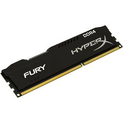 Memorija Kingston  4GB 2400MHz DDR4 CL15 DIMM HyperX FURY Black, EAN: 740617244335