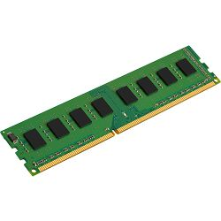 Memorija Kingston System Specific RAM 4GB 1600MHz Low Voltage Module Single Rank - Standard 512M X 64 Non-ECC 1600MHz 240-pin Unbuffered DIMM 1RX8 (DDR3L, 1.35V, CL11, 4Gbit, FBGA, Gold)