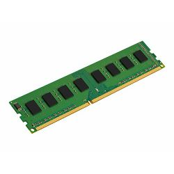 Memorija Kingston System Specific RAM 8GB 1600MHz Low Voltage Module - Standard 1G X 64 Non-ECC 1600MHz 240-pin Unbuffered DIMM 2RX8 (DDR3L, 1.35V, CL11, 4Gbit, FBGA, Gold)