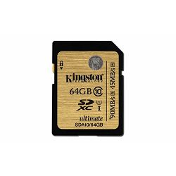 Memorijska kartica Kingston SD 64GB UHS-I Ultimate Class 10