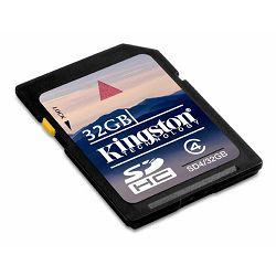 Memorijska kartica Kingston SDHC 32GB Class 4
