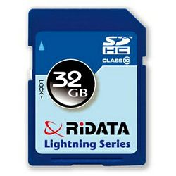 Memorijska kartica SDHC, 32GB, Ridata, Class10